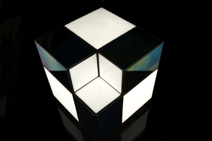AlyaCube, minimalist, modern lamp