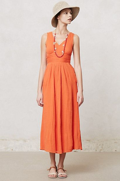 A maxi that I might be able to pull off. Most are way too long for shortie me. Caraiva Maxi Dress