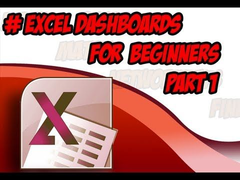 Business Dashboards In Excel for Beginners
