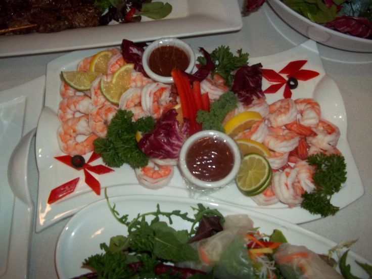 Pepperberry Shrimp Appetisers