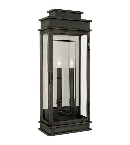 Visual Comfort CHO 2910BZ E. F. Chapman Linear Lantern Tall in Bronze