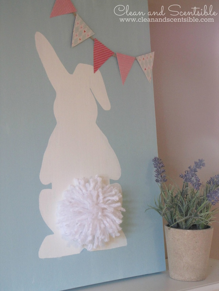 Clean & Scentsible: Easter Bunny Canvas
