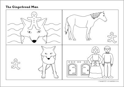 42 best the three little pigs stem challenge images on for Gingerbread man story map template