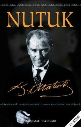 Nutuk is a great speech of ATATÜRK covered the events between the start of the Turkish War of Independence on May 19, 1919 and the foundation of the Republic of Turkey, in 1923
