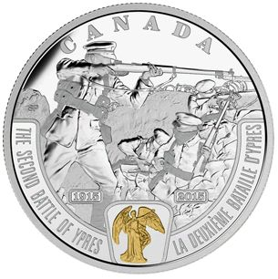 Double-dated $20 Silver Coin Honours Second Battle of Ypres - Coin Community Forum