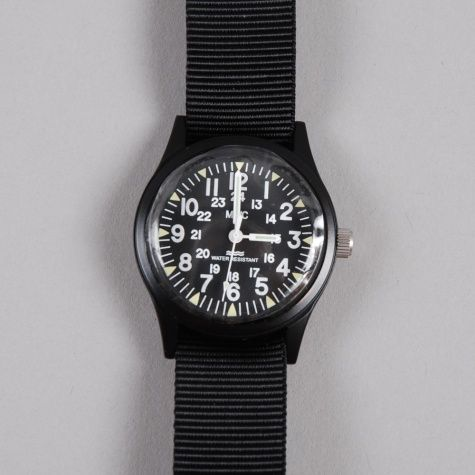 Military Watch Company Vietnam Watch - Black Metal