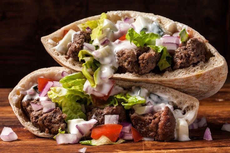 A delicious recipe for ground beef gyros.