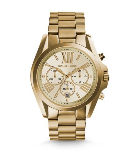 Bradshaw Gold-Tone Stainless Steel Watch | Michael Kors