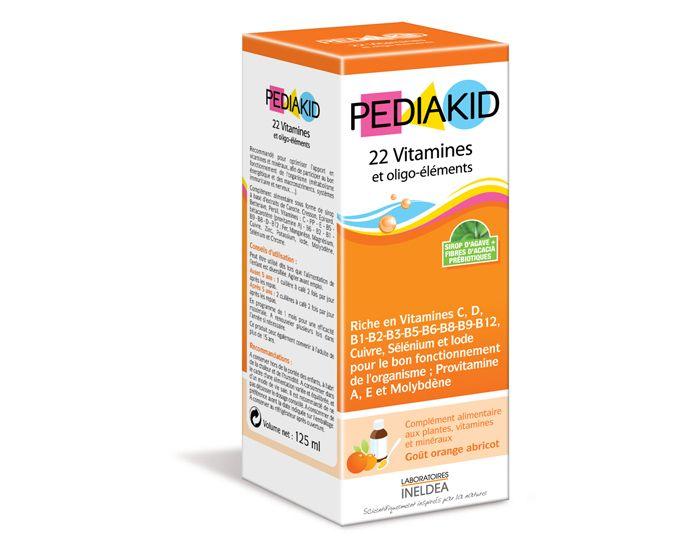 PEDIAKID Complément Alimentaire Vitamines et Oligo Elements Bébé