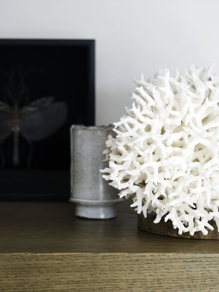 Piet Boon Styling by Karin Meyn | White coral with ceramic MY COLOUR SCHEME