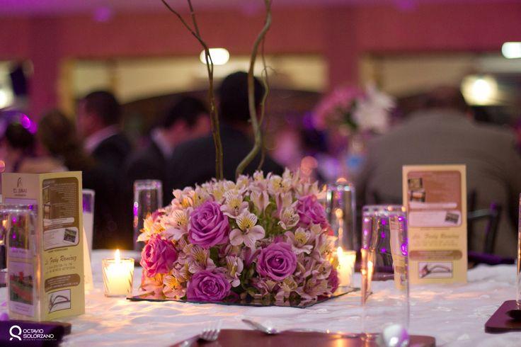 centros de mesa para quinceanera 2013   Centros de mesa para boda en Salón El Sinai Tepic - Octavio ...