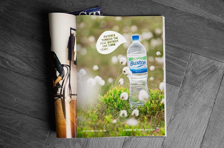 Work - Buxton Water - Q+H London Creative Agency