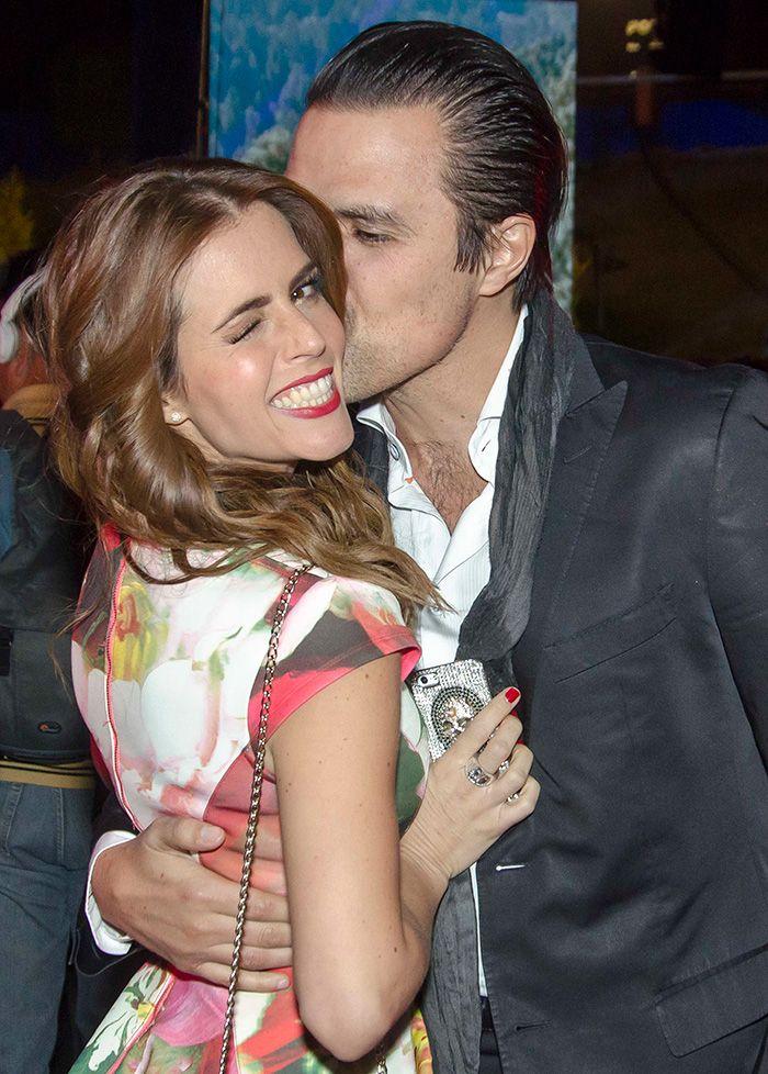 Entre rosas, así celebraron Claudia Álvarez y Billy Rovzar su cumpleaños