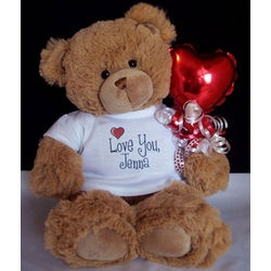 Love You Personalized Teddy Bear