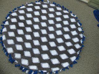 DIY dog bed cover, no sew, crafty,