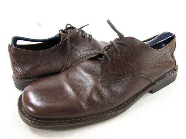J. Crew shoes made in Italy men's #10.5 brown leather oxfords #JCrew #