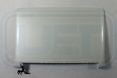 New Acer Aspire One ZG5 Laptop LCD Top Back Cover Lid EAZG5001120 White LED