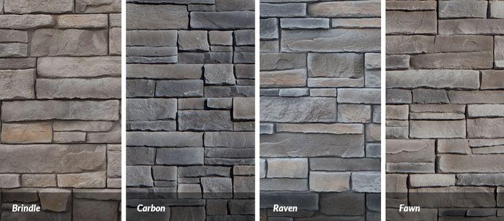 Great Lakes Granite Marble: Great Lakes Stone Veneer Siding Colours