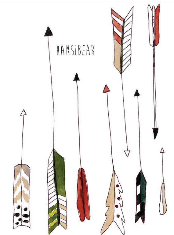 107 best Arrows illustrations images on Pinterest ...