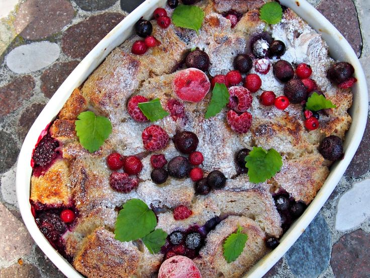 French Toast casserole (Fitfocuse)