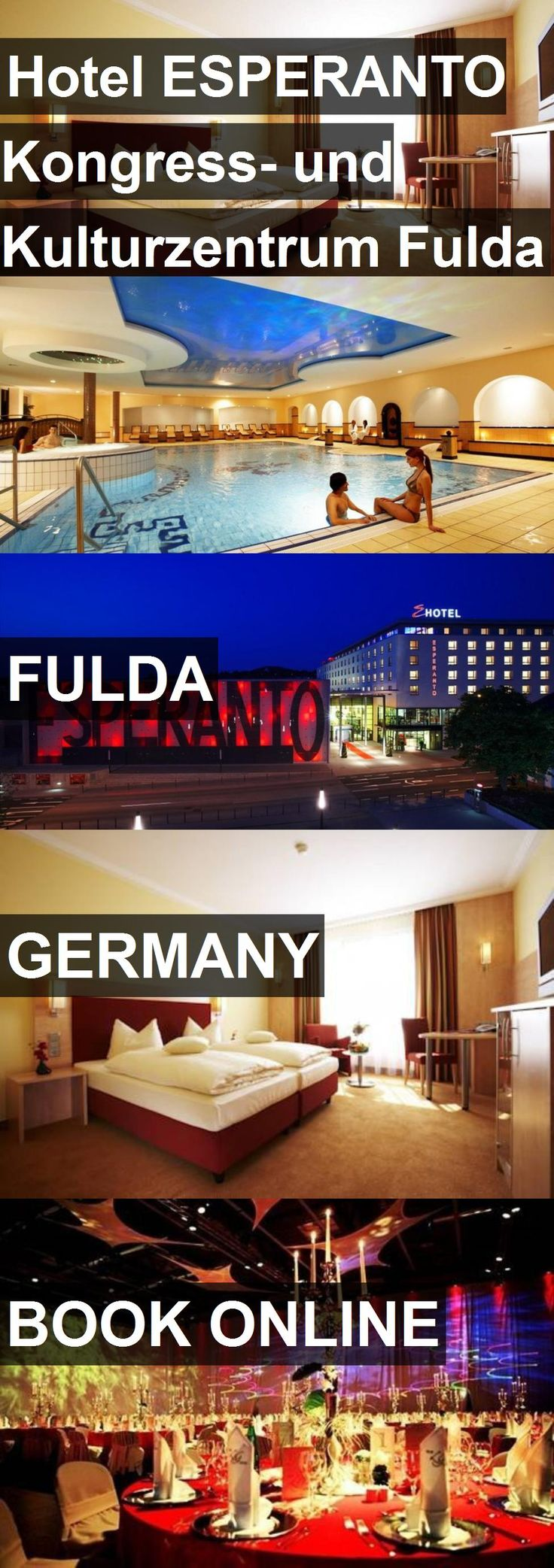 Hotel ESPERANTO Kongress- und Kulturzentrum Fulda in Fulda, Germany. For more information, photos, reviews and best prices please follow the link. #Germany #Fulda #travel #vacation #hotel
