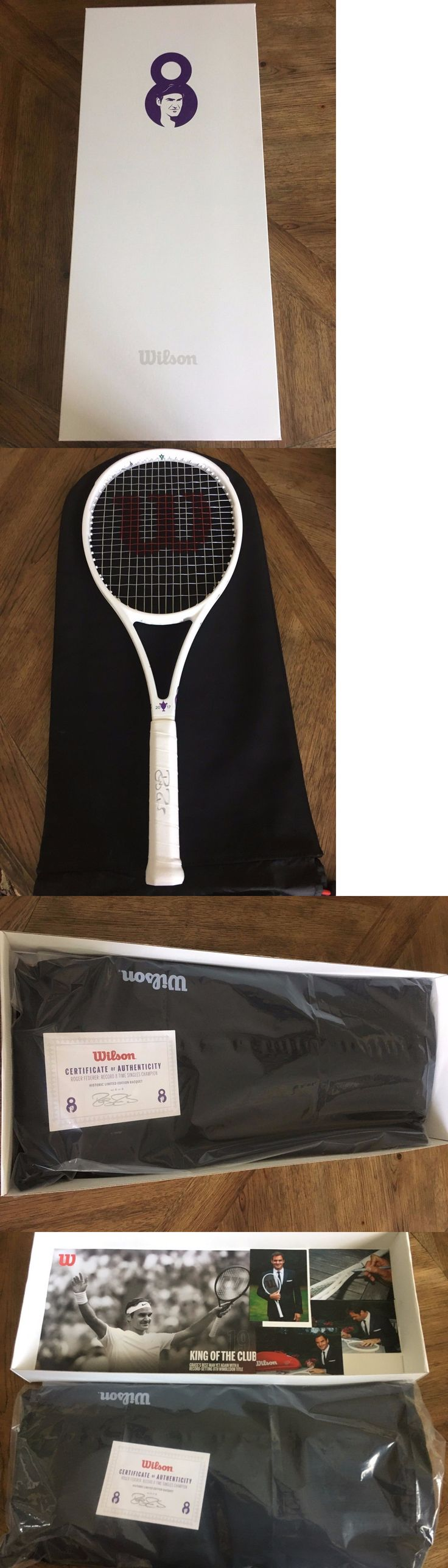 Racquets 20871: Roger Federer Limited Wimbledon Wilson Pro Staff Rf 97 8Th Gs Signed Racquet -> BUY IT NOW ONLY: $250000 on eBay!