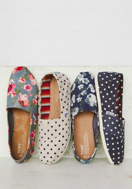 TOMS Women's Classics are our original slip-on shoe style and the base to the One for One movement.