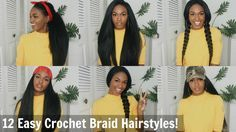 12 Super Easy Straight Crochet Hairstyles! - Outre X-pression Dominican Blowout [Video]  Read the article here - http://www.blackhairinformation.com/uncategorized/12-super-easy-straight-crochet-hairstyles-outre-x-pression-dominican-blowout-video/
