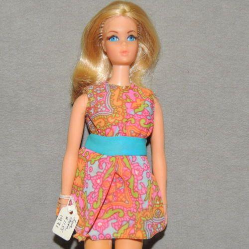 Barbie-1970s-Doll-amp-Clothes-VINTAGE-Live-Action-1152-Mood-Matchers-1792