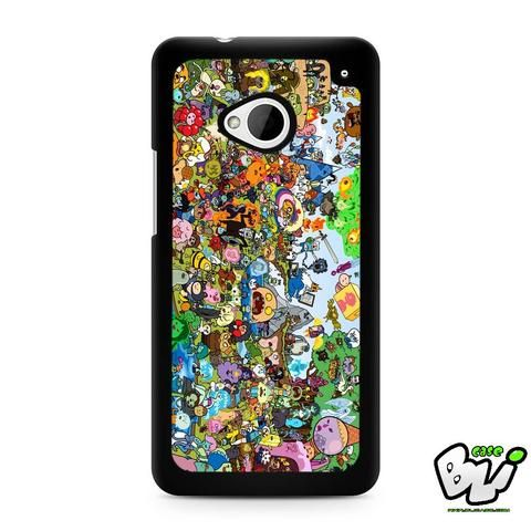 Adventure Time All Characters HTC G21,HTC ONE X,HTC ONE S,HTC M7,M8,M8 Mini,M9,M9 Plus,HTC Desire Case
