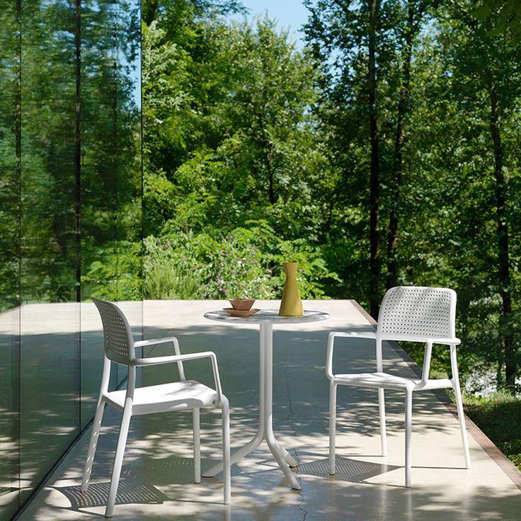 Step Tisch Von Nardi Connox Tische Im Freien Bistro Stuhle Terrassengestaltung