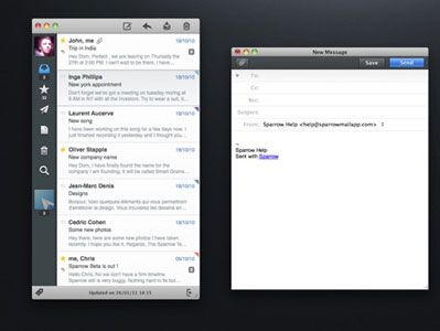Sparrow, The Best Email App For Mac, Is On Sale For 50% Off This Weekend