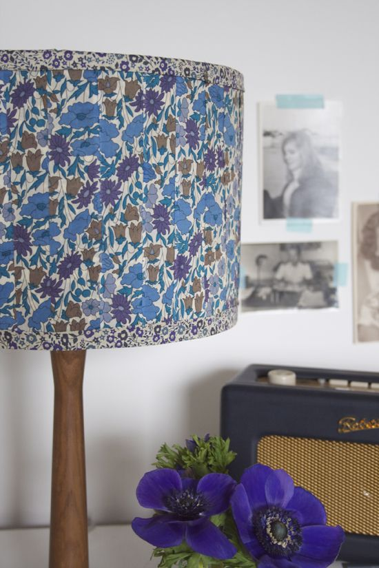 How to make a DIY fabric lampshade