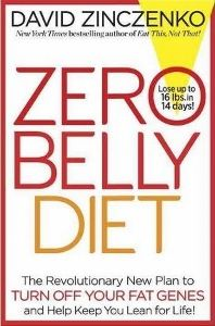 Food list for Zero Belly Diet (2014) by David Zinczenko: a weight-loss diet which focuses on how to remove visceral fat from the belly area. 7-day cleanse and lifetime eating guidelines. Eat mostly plant-based foods during the day (except eggs for breakfast). Eat vegetables, fruits, lean protein, healthy fats, nuts and seeds, legumes. Three meals plus smoothie plus optional snack each day; one cheat meal a week. Avoid gluten, refined grains, dairy, sugar, processed foods.