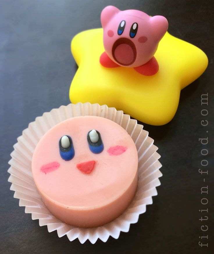 Kirby Candies Food Adventures (in fiction!)