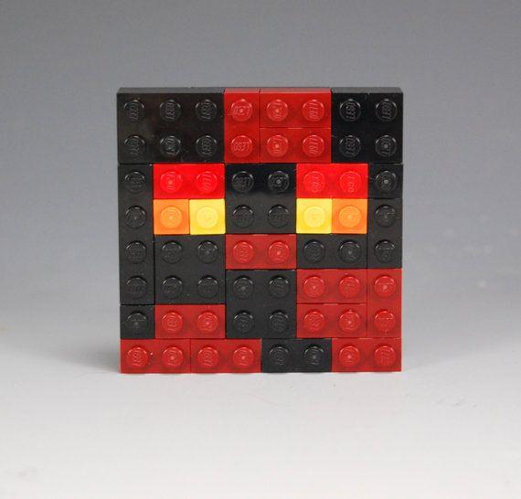 Lego Minecraft Magma Cube Head Lego Minecraft