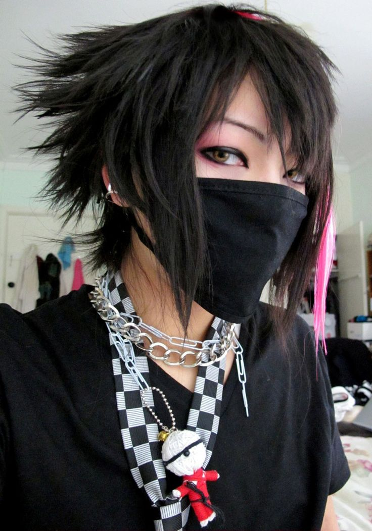 visual kei punk hair