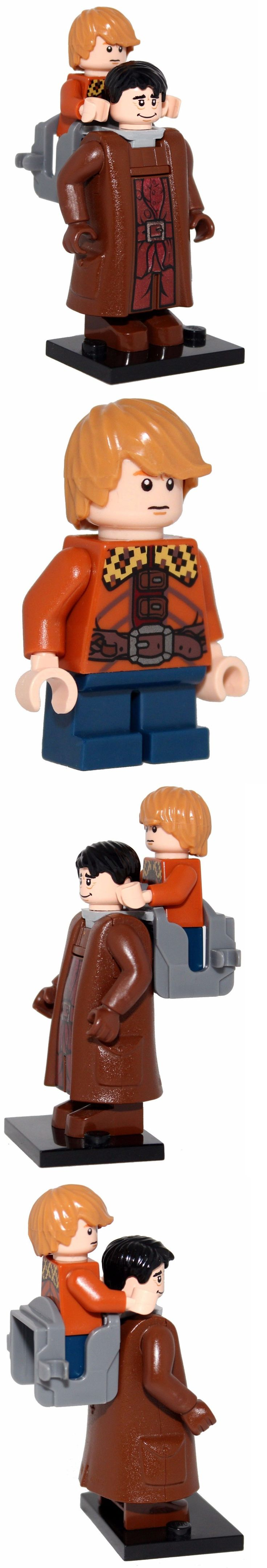 Other Building Toys 19015: Bran And Hodor - Game Of Thrones Minifigures Made Of Lego And Compatible Parts -> BUY IT NOW ONLY: $34.99 on eBay!