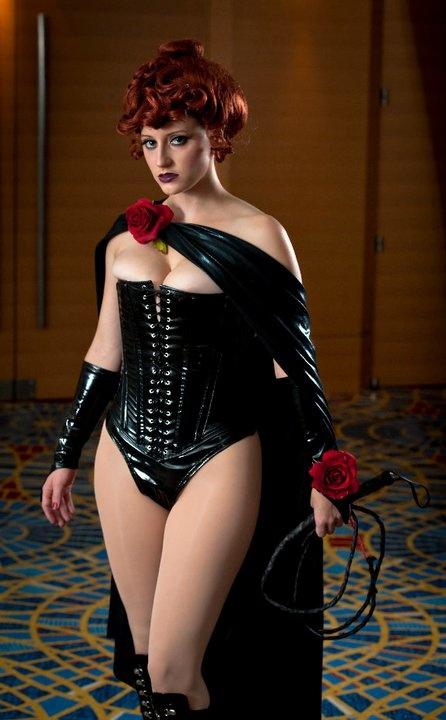 Abby Dark-Star as the Black Queen