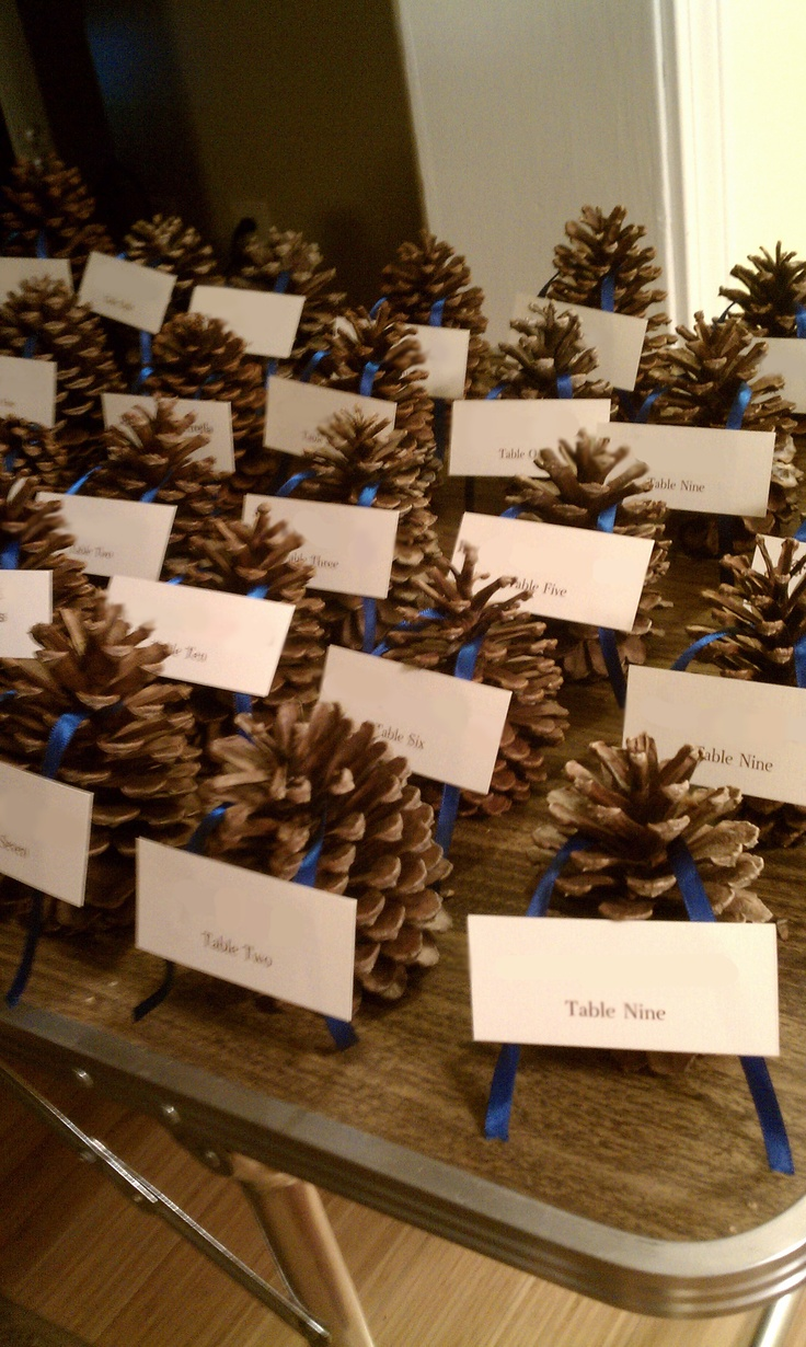 Wedding Decor - Escort cards