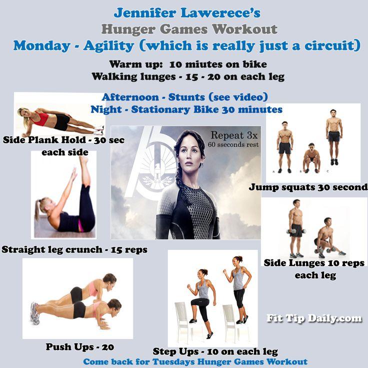Workout Games: Best 25+ Jennifer Lawrence Workout Ideas On Pinterest
