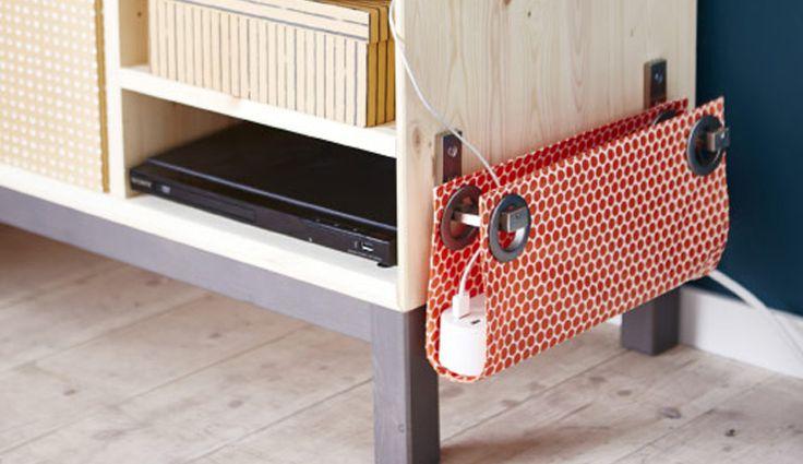 DIY: frustrerende snoeren wegwerken