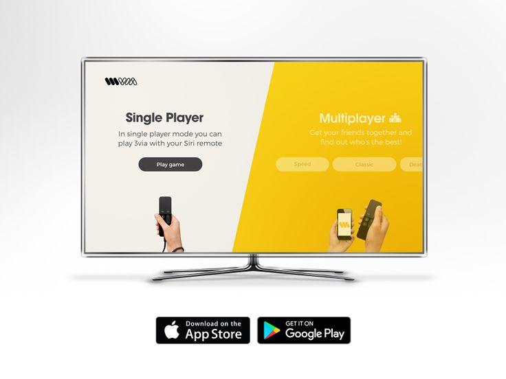 3via for Apple TV homescreen design by Igor Ivankovic