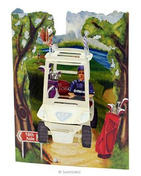 Golf Buggy 3D Swing Cards