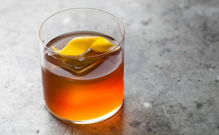 Meadowood Vieux Carre cocktail recipe: Uses apple brandy instead of cognac. | Photo: Peden + Munk