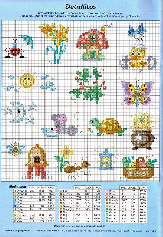 graficos para baberos infantiles | Aprender manualidades es ...