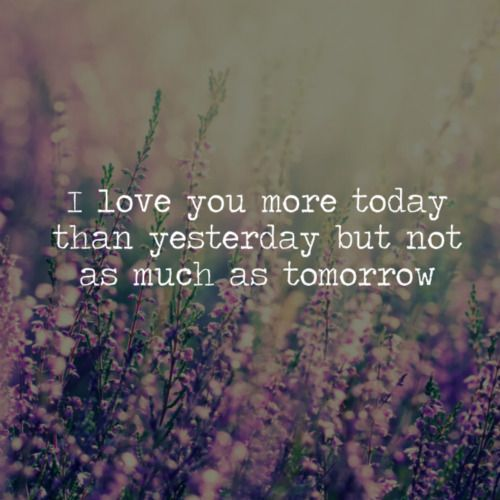 I Love You More Today Than Yesterday But Not As Much As Tomorrow 3