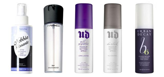 Spray to fix your #makeup.  Fissatori per il trucco. Scopri tutto quello che c'è da sapere. Mac Cosmetics, Urban Decay, Neve Cosmetics