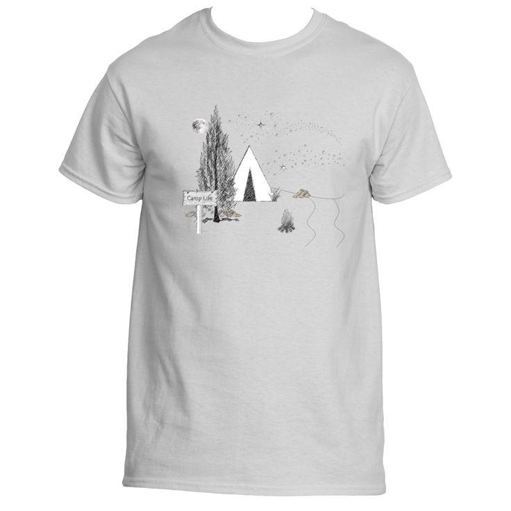 Camp Life Men's Short Sleeve T-shirt