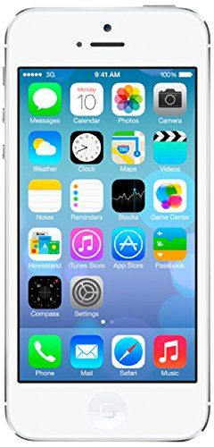 nice Apple iPhone 5 - Certified Pre-Owned Refurbished 16GB SIM-Free Smartphone - White